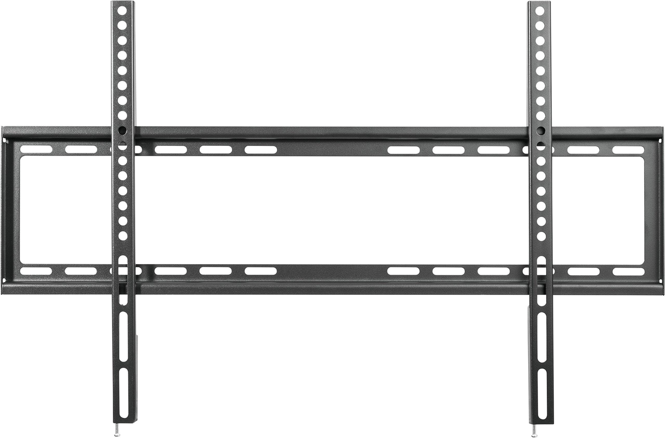 SCHWAIGER -9345- Soporte de pared para TV para pantallas de 94-203 cm o (37-80 pulgadas) | soporte para LED 4K OLED | carga máxima 45 kg | distancia a la pared hasta