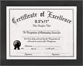 8.5x11 Certificate Frames Document Frame - Display Award, Cerficates, Documents, Diploma, Pictures 8.5x11 JL_8.5X11_Document Frame_YinLiu