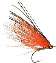 PEETZ Brook's Orange Peel 4-Inch Pro Grade McFly Fly Fishing Lure   Deceiver Streamer Bucktail Clouser Wet Freshwater Saltwater   Pike Bass Perch Walleye Salmon Trout Dorado Tarpin Bonefish