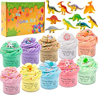 Cutiecute Butter Slime Kit,Super Soft & Non-Sticky, Stress Relief Toy Scented Sludge Toy for Kids Education, Party Favor, ...