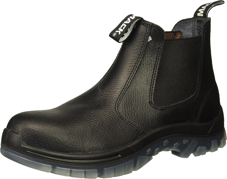 SAS Safety E93811061 Mack Tradie Boots, USA 8.5, Black