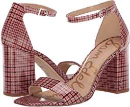 Cameo Pink Multi English Coated Plaid