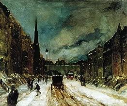 Street Scene with Snow by Robert Henri - 20