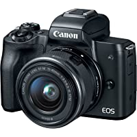 BestBuy.com deals on Canon EOS M50 Mirrorless Camera w/EF-M 15-45mm f/3.5-6.3 Lens