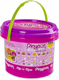 Pinypon Cubo Mix Is MAX con 5 Figuras (Famosa 700013810