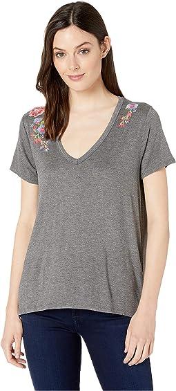 2924 Rayon Spandex Jersey T-Shirt