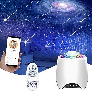 پروژکتور استار Galaxy Light ، Fansbe 3 در 1 اتاق خواب Galaxy Star پروژکتور /8 نویز سفید /بلندگوی بلوتوث داخلی برای کودکان بزرگسال اتاق خواب اتاق خواب با کنترل از راه دور