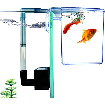 Finnex External Refugium Breeder Hang-On Box, Water Pump