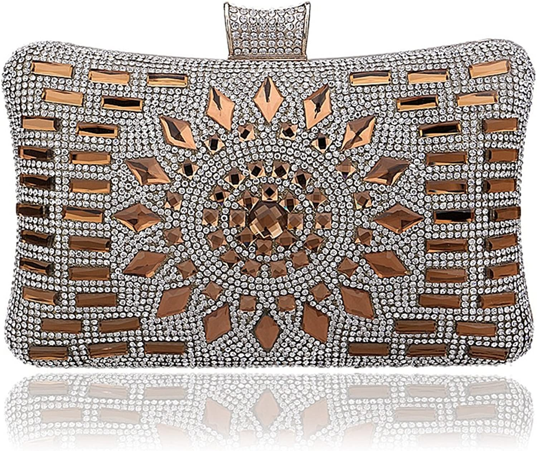 MAGAI Abendtasche mit Diamantbesatz Damen Abendkleid Abendkleid (Farbe     Gold) B07MP1Z4RR  Diversifiziertes neues Design e9a2a1