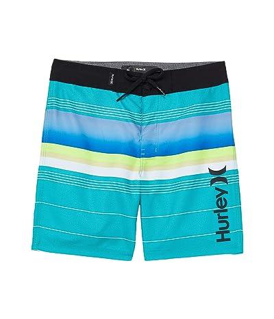 Hurley Kids Gradient Striped Boardshorts (Little Kids)
