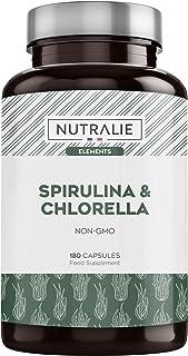 Espirulina & Chlorella 1800mg | Detox, Energía, Fuerza
