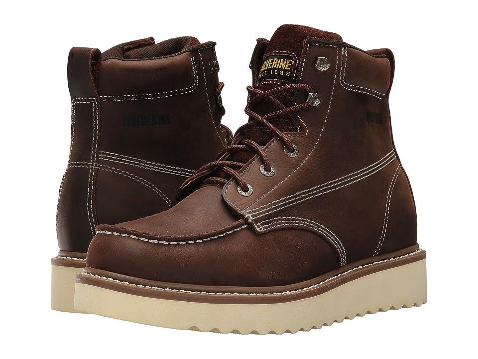 Wolverine Loader 6 Boot (Brown) Men