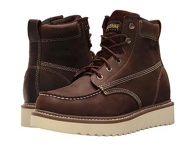 Wolverine Loader 6 Wedge Boot Soft Toe (Brown) Men