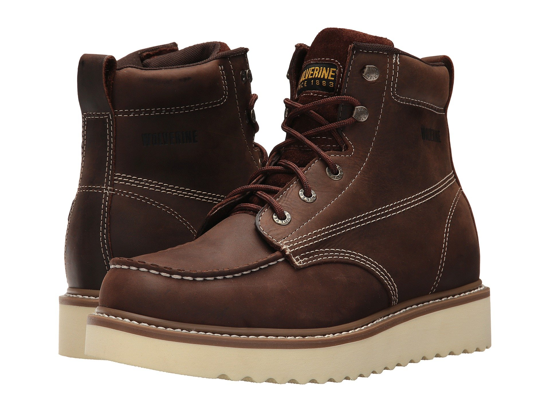 83274c8fb1b Men s Moc Toe Boots + FREE SHIPPING