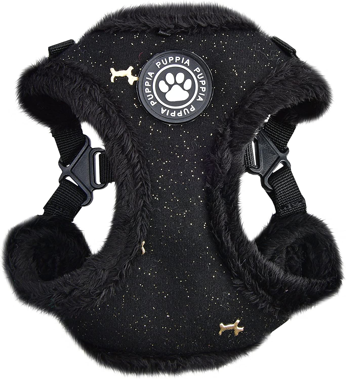Puppia Gia Harness C, Large, Black