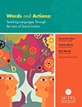 Words and Actions: Teaching Languages Through the Lens of Social Justice