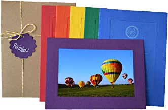 product image for Rainbow Collection - 4x6 Photo Insert Note Cards - 24 Pack by Plymouth Cards