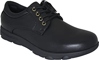 Men's 8555 Professional Comfort Work Shoe with Memory Insole Slip Oil & Water Resistant