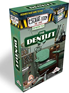 Escape Room The Game Expansion Pack – The Dentist | Solve The Mystery Board Game for Adults and Teens (English Version)