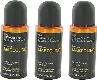 Parfums De Coeur Ltd 2608 Body Spray Mascolino 4