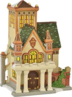 Department 56 Dickens Village Duniway Abbey Lit Building, 7.5