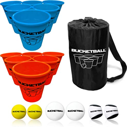 Bucket Ball - Beach Edition - Ultimate Beach, Pool, Yard, Camping, Tailgate, BBQ, Backyard, Lawn, Water, Wedding, Eve...