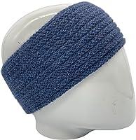 ARMATTA Turbante de Lana de Alpaca 100% de Los Andes, Suave, No Pica, Mantiene el Calor (Azul oscuro)