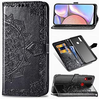 Minwu Wallet Case for Samsung Galaxy M01 Core,[Flip cover] [Bracket function] Ultra-thin Leather +TPU Leather Case With Ca...