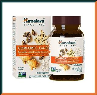 Himalaya ComfortCleanse con Achicoria, Jengibre y Regaliz para la limpieza de colon, la desintoxicación y la constipación ocasional - 500 mg, 60 cápsulas (Comfort Cleanse (For Digestion))