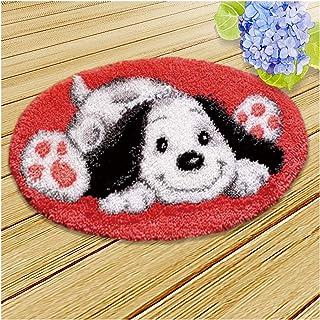 Dog Modèle Crochet Kit De Crochet DIY Crochet Tapis De Broderie, Crochet De Décoration De La Maison Crochet Set Coussin De...