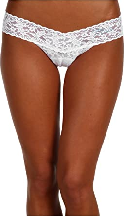 "Hanky Panky ""Mrs."" Low Rise Bridal Thong"
