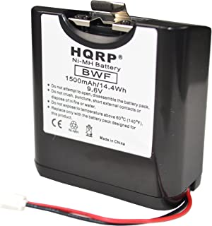 HQRP Battery Works with Sony NH-2000RDP XDR-DS12iP RDP-XF100iP RDP-V20IP Dock Radio, Audio Docking System NH2000RDP NH 2000RDP + HQRP Coaster