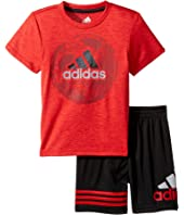 adidas Kids - Defender Shorts Set (Infant)