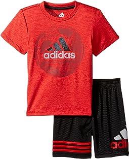 adidas Kids - Defender Shorts Set (Infant)