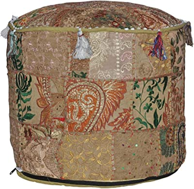 Amazon Com The Sole Secret Button Tufted Ottoman With