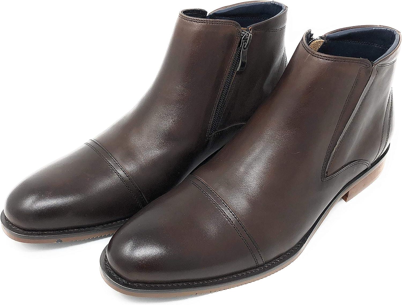 GREYWALK Men's Boots 100% Genuine Leather,