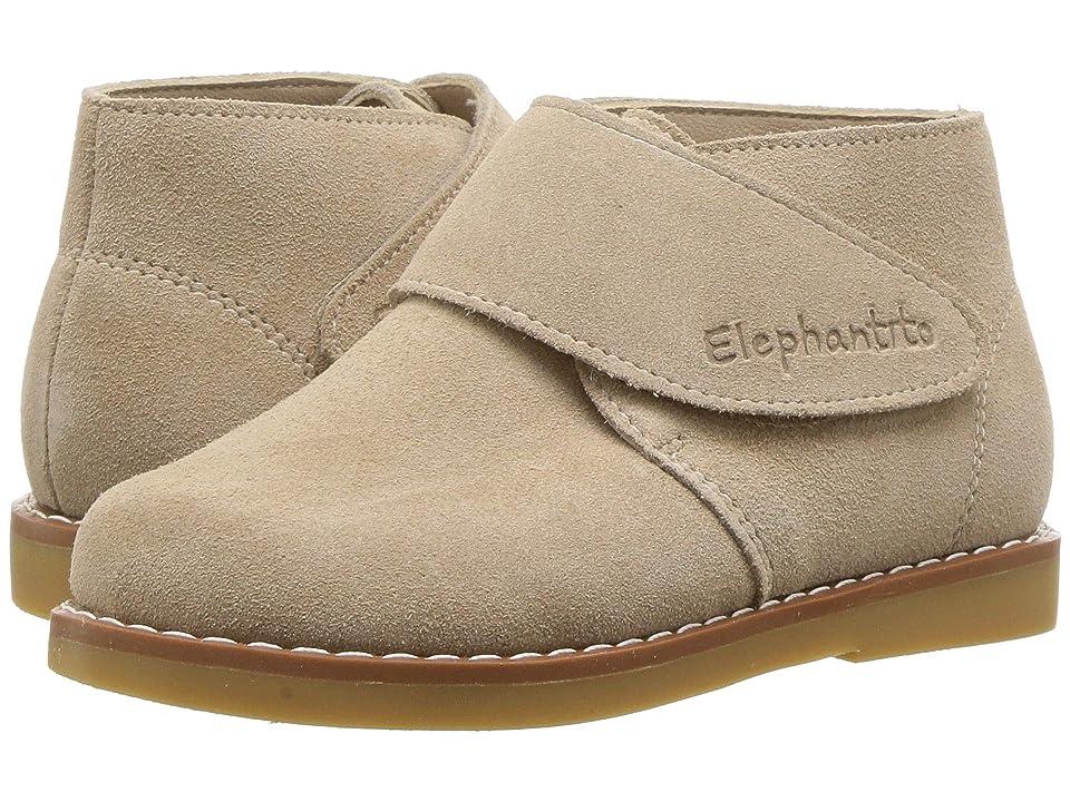 Elephantito Suede Bootie (Toddler/Little Kid/Big Kid) (Sand) Kids Shoes