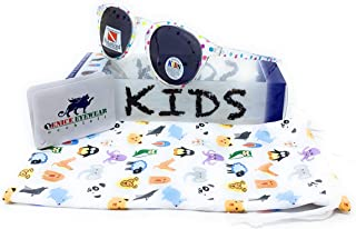VENICE EYEWEAR OCCHIALI Gafas de sol Polarizadas para niño o niña. Round vintage kids