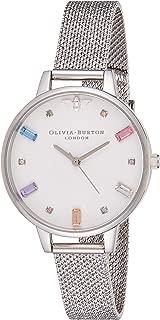 Olivia Burton Womens Quartz Watch, Analog Display and Stainless Steel Strap OB16RB10