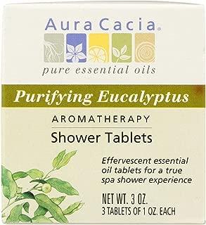 Aura Cacia Purifying Eucalyptus Aromatherapy Shower Tablets