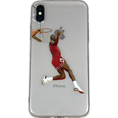 f803f98374bb Soft TPU Basketball Case with Your Favorite Past and Present Players (Jordan  Reverse Dunk