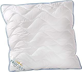 PROCAVE TopCool poduszka pod głowę, odporna na gotowanie, 80 x 80 cm, wysokiej jakości pikowana poduszka, oddychająca podu...