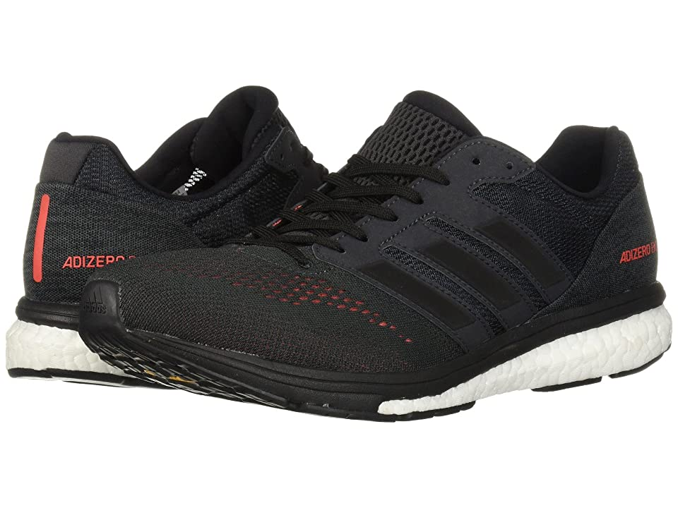 adidas Running adiZero Boston 7 (Carbon/Black/Hi-Res Red) Men's Shoes