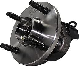 Detroit Axle - 4-LUG Front Wheel Bearing Assembly for 4-Wheel ABS Models - 2005-10 Chevy Cobalt - [2007-10 Pontiac G5] - 2005-06 Pontiac Pursuit - [2003-2007 Saturn Ion]