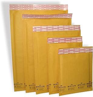 Polyair Eco-lite #7 ELSS725 Golden Kraft Bubble Mailer, 14.25