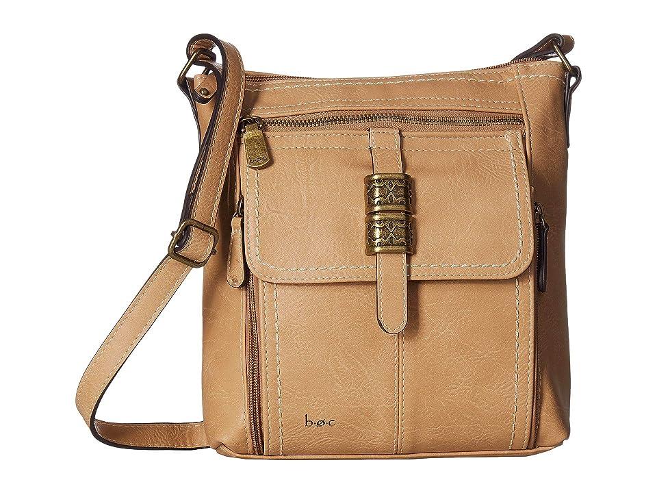b.o.c. Howard Point Crossbody (Luggage) Cross Body Handbags, Brown