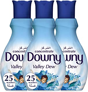 Downy Concentrate Fabric Softener Valley Dew 1L 2+1 Pack