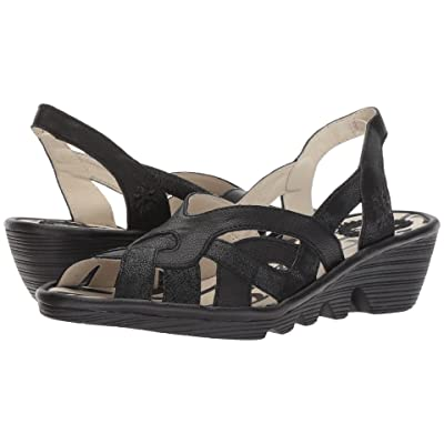 FLY LONDON PIMA887FLY (Black Cool/Mousse) Women