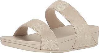 002da85bcbc8 fitflop Womens Shimmy Suede Slide Sandal