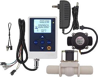 "DIGITEN水流制御LCDディスプレイコントローラ + G3 / 4""ホールセンサ流量計カウンタ + G3 / 4""電磁弁常時閉N/C 12V電源"